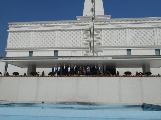 Mexico City Temple with District