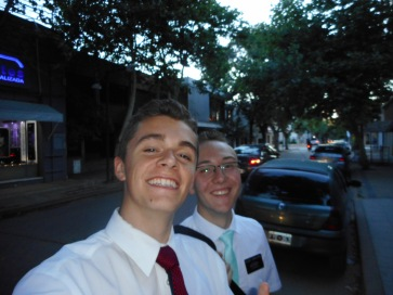 With Elder Israelsen