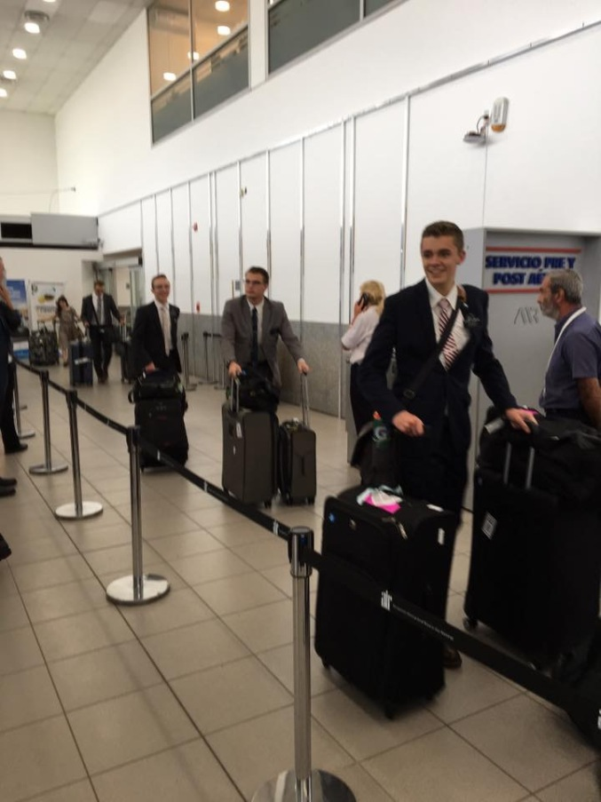 Argentina Arrival
