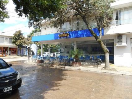 Ice Cream shop after the rain