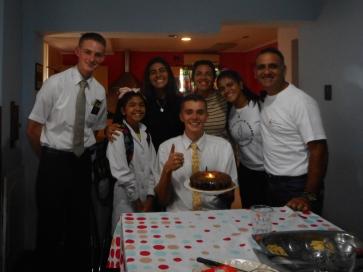 Birthday cake for Tate with Familia Menchi or Alassia