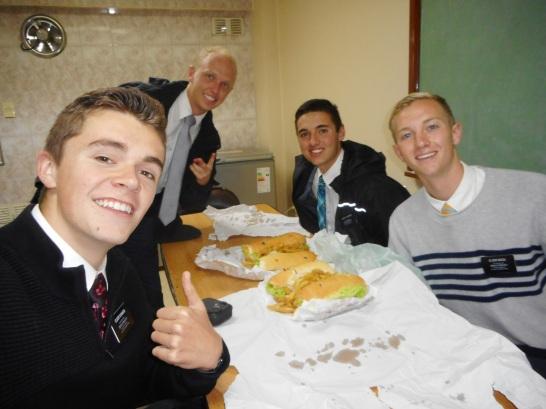 Milanesa sandwiches
