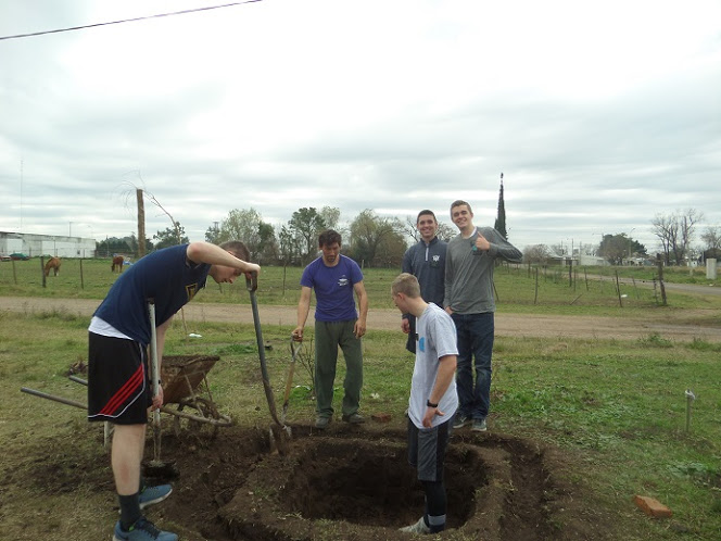 Digging a Septic Tank