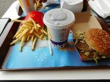 Big Mac meal (jumbo drink)