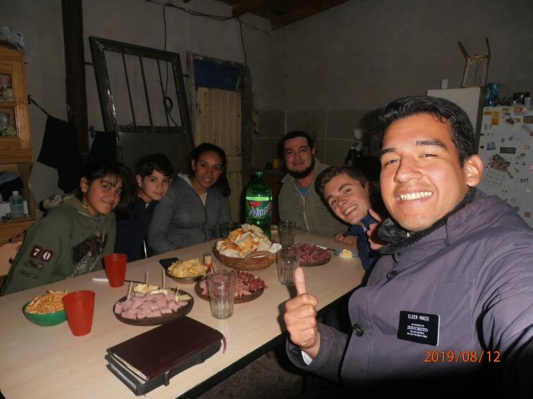 Feast with Gabriel & Liliana family